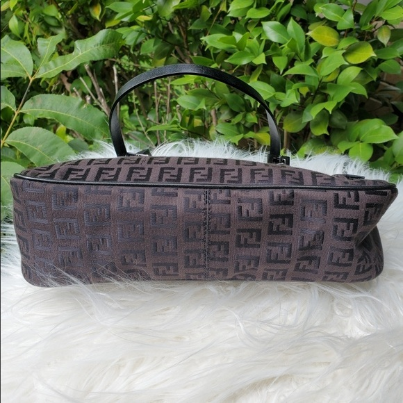 Fendi Handbags - Fendi double strap Zucchino Print handbag